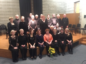 Singers and pianists of the Dichterliebe Project, with directors Kathryn Whitney & Anna Cal, 2016