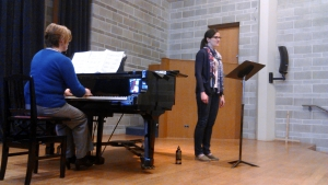 Masterclass for amateur musicians, the Winterreise Project, 2015