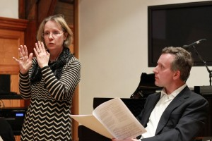 Amanda Glauert & Norbert Meyn, Royal College of Music song research event, January 2013