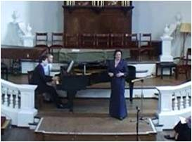 kathryn whitney & sholto kynoch, holywell music room, oxford